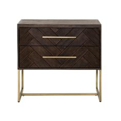 """Rustic java wood Brushed Gold accents Dimensions: W:29.5"""" D:20"""" H:27"""" Please allow 2 weeks"""