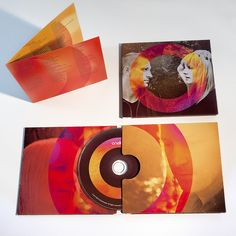 Atmosphere Design for Onelight.   CD Digipak. Graphic design, band photography and product photography.