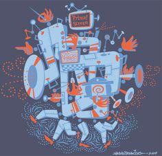 Primal Screen T-shirt