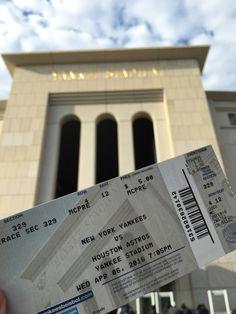 Yankee Stadium, opening week, 2016