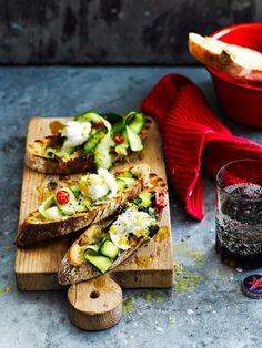 Je le fais moi-même : 5 bruschette originales - Cuisine - Home - ELLE Belgique