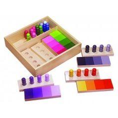 Boîte de couleurs | Matériel Montessori | Tangram Montessori