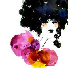 Anja   Ekaterina Koroleva #illustration