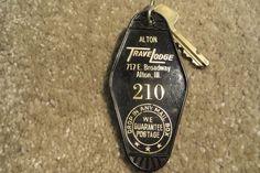 Alton Travelodge Alton Illinois Hotel key and fob Room 210   Collectibles, Casino, Casino Memorabilia   eBay!