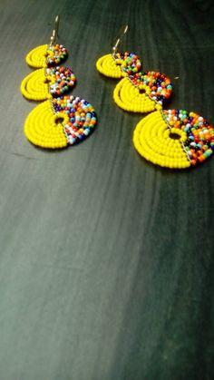 Jewelry Diy Videos ON SALE Kenyan Earrings Bead Earrings African Earrings Africa Earrings Masai Earrings Maasai Ea. Jewelry Diy Videos ON SALE Kenyan Earrings Bead Earrings African Earrings Africa Earrings Masai Earrings Maasai Ea Fabric Earrings, Beaded Earrings Patterns, Bead Earrings, Crochet Earrings, Tribal Earrings, African Earrings, African Beads, African Jewelry, Earrings Handmade