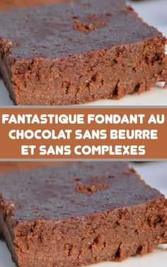 Fantastic chocolate fondant without butter and without complexes - Cheesecake Recipes Cheesecake Mousse Recipe, Chocolate Mousse Cheesecake, Cheesecake Recipes, Thermomix Desserts, Ww Desserts, Dessert Recipes, Dessert Healthy, Chocolate Fondant, Chocolate Desserts