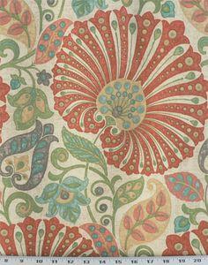 Bankura Papaya   Online Discount Drapery Fabrics and Upholstery Fabric Superstore!