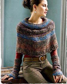 Идея для тех, кто не знает что связать из Новены мини пончокрасивая вещь...можно одевать хоть на свитер, хоть на верхнюю одежду  Цветовая палитра ещё большая♀️  Правда выбрать не так легко