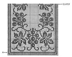 Grapevine Runner Pattern #7118 chart