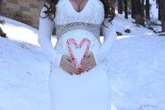 Candy Cane Love!   Pregnancy announcement