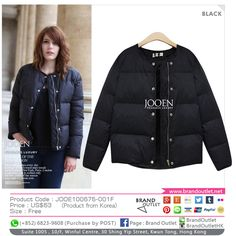 Product Code: JOOE100675-001F Item Description: Jooen Black Trendy Coat Price: US$63 Size: Free WhatsApp: (+852) 6823-9608 (Purchase by POST) Tel: (+852) 3188-4878 Address: Suite 1005 , 10/F, Winful Centre, 30 Shing Yip Street, Kwun Tong, Hong Kong Website: www.brandoutlet.com.hk Facebook: Brand Outlet Email: info@brandoutlet.clothing #korea #koreaclothes #koreanfashion #koreanmodel #madeinkorea #onlineshop #onlineshopping #summer #style #dress #top #seoul #onepiece #brandoutlet #fash