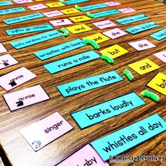 Silly Sentence Puzzles:  Students choose subjects, predicates, and conjunctions to create compound sentences.  Then, students edit for capitalization and punctuation