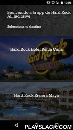 Hard Rock All Inclusive  Android App - playslack.com , Plan your perfect gateway with our Application of Hard Rock Hotels All Inclusive. With this app for Android you can find and review information for our hotels in Cancun, Riviera Maya, Vallarta and Punta Cana. Check our amenities and services. Confirm your Spa treatment, daytime activities and electrifying nightlife featuring international DJs, live music & entertainment. If you want you could make your booking here. Take our virtual…