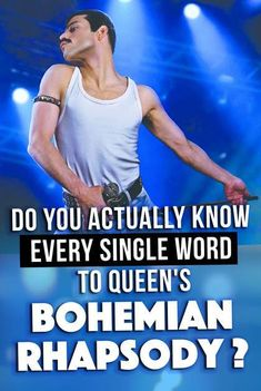 Can you make Freddie Mercury proud by finishing all the lyrics to Bohemian Rhapsody? Only true Queen fans will ace this lyrics quiz! I Know Lyrics, Song Lyrics Quiz, Remember Lyrics, Me Too Lyrics, Music Lyrics, Music Songs, Bohemian Rapsody Lyrics, Queen Bohemian Rhapsody Lyrics, Finish The Lyrics