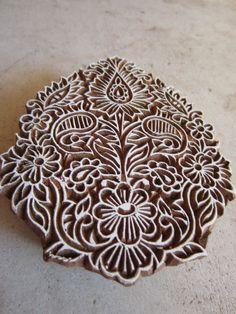 Indian block print queenandswan.etsy.com