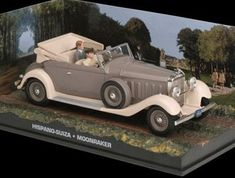 Hispano Suiza Diecast Model Car from James Bond Moonraker @ niftywarehouse.com