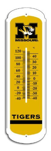 Pin It :-) Follow us :-)) zCamping.com is your Camping Product Gallery ;) CLICK IMAGE TWICE for Pricing and Info :) SEE A LARGER SELECTION of weather thermometer at http://zcamping.com/category/camping-categories/camping-survival-and-navigation/camping-weather-instruments/ -  camping gear, hunting,  camping essentials, camping, barometer -  NCAA Missouri Tigers 27-inch Outdoor Thermometer « zCamping.com