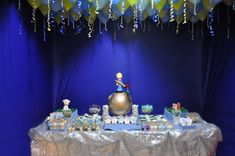 We all know that little girls are princesses but what about little boys? Boys are little princes the little prince birthday party. Prince Birthday Theme, 1st Birthday Themes, Boy First Birthday, 3rd Birthday Parties, Birthday Ideas, Little Prince Party, The Little Prince, Futur Parents, Royal Party