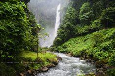 Seven falls,Lake Seleu,Philiphines.