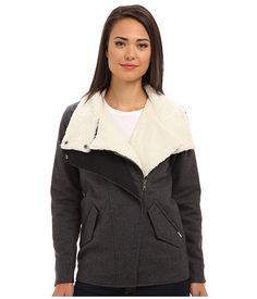 Vans Merser Jacket New Charcoal Heather - 6pm.com