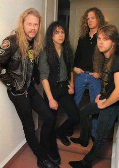 James Hetfield, Kirk Hammett, Jason Newsted & Lars Ulrich