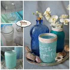 Faux Sea Glass Decorative Centrepieces - Patina Paradise