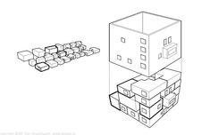 Diagram of Loos's Villa Muller