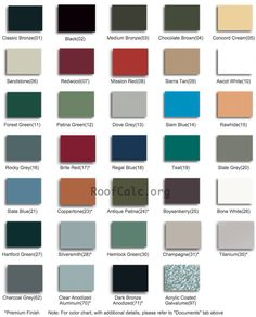 27 Best Metal Roof Colors Images Dream Homes House