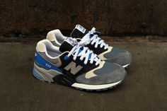 finest selection b2e03 8b339 New Balance 999 – Navy   Grey (Spring 2013) Grey Sneakers, Running Sneakers