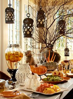 Are you ready for a pumpkin block party? #potterybarn
