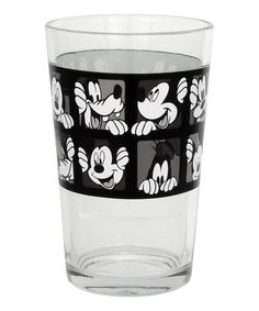 Disney Juice Glass - Set of Six