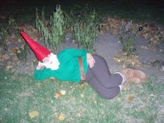 adult garden gnomes halloween costume idea google search