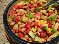 Cowboy Salad | Food Hero - Healthy Recipes that are Fast, Fun and Inexpensive