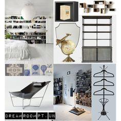Dream Room Pt. Un on Polyvore
