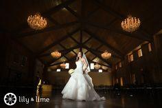 Love the idea of a portrait in your reception ballroom!