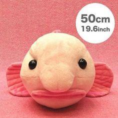 Sea Creature Deep Sea Blobfish Realistic Stuffed Soft Plush Doll (50 cm)