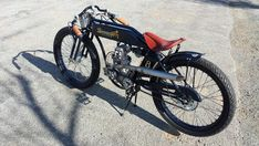 The Golden Rod   Electric Street Bike is an example of a 1915 replica of a Board Track Racer, and an age of excellence in cycling and motorcycle racing. Perhaps it comes the closest of all 5 models to the old Indian racers.