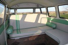 The Camper Shak - Hand Crafted VW Camper Interiors Interior Kombi, Volkswagen Bus Interior, Interior Design, Vw Bus, Vw T1 Camper, Vw Vanagon, Volkswagen Transporter, Volkswagen Beetles, Volkswagen Golf
