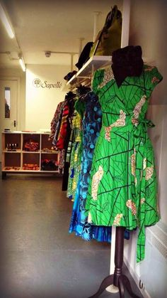African Prints in Fashion: Online store Sapellé goes Brick & Mortar