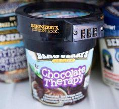 Ice cream lock, need this!