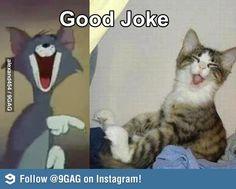 Yeah.. a good joke!