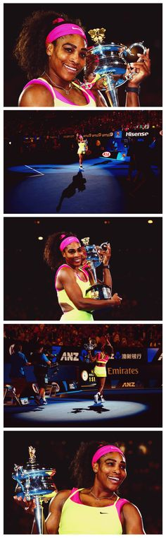 Congratulations to #Serena Williams, the women's 2015 Australian Open Champion! Get her gear here: http://www.tennis-warehouse.com/player.html?ccode=SWILLIAMS