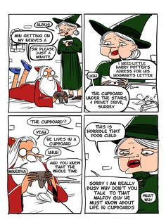floccinaucinihilipilification: Dumbledore Knows (click through for final panel)