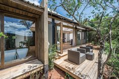 Settlers Drift offers luxury safari tented lodge accommodation in a remote, untouched part of the Kariega Private Game Reserve, Eastern Cape South Africa. Private Games, Backyard, Patio, Game Reserve, Lodges, Safari, Tent, Remote, Mansions