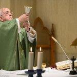 Papa Francisco en Santa Marta: Dios perdona siempre, perdona todo