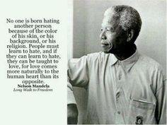 Mandela on Love & Hate