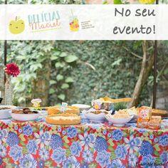 A #DelíciasMaciel também está presente em coffee breaks ou comemorações de empresas. Para saber mais, entre em contato conosco no e-mail deliciasmaciel@gmail.com ;) #buffetsaudável #buffetitinerante #alimentaçãosaudável #decoraçãosustentável
