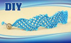 Surfs Up Macrame Bracelet