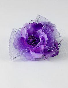 Hat Design Silk og tyl bryllup / fest blomst – DKK kr. 45