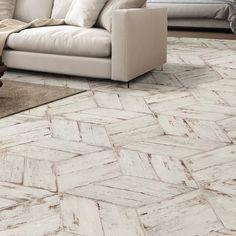 Rama 7 x 17 Porcelain Wood Look Tile in Blanco Porcelain Wood Tile, Ceramic Subway Tile, Wood Tile Floors, Kitchen Flooring, Brick Tile Floor, Kitchen Floor Tiles, Entryway Tile Floor, Wood Floor, Bathroom Flooring